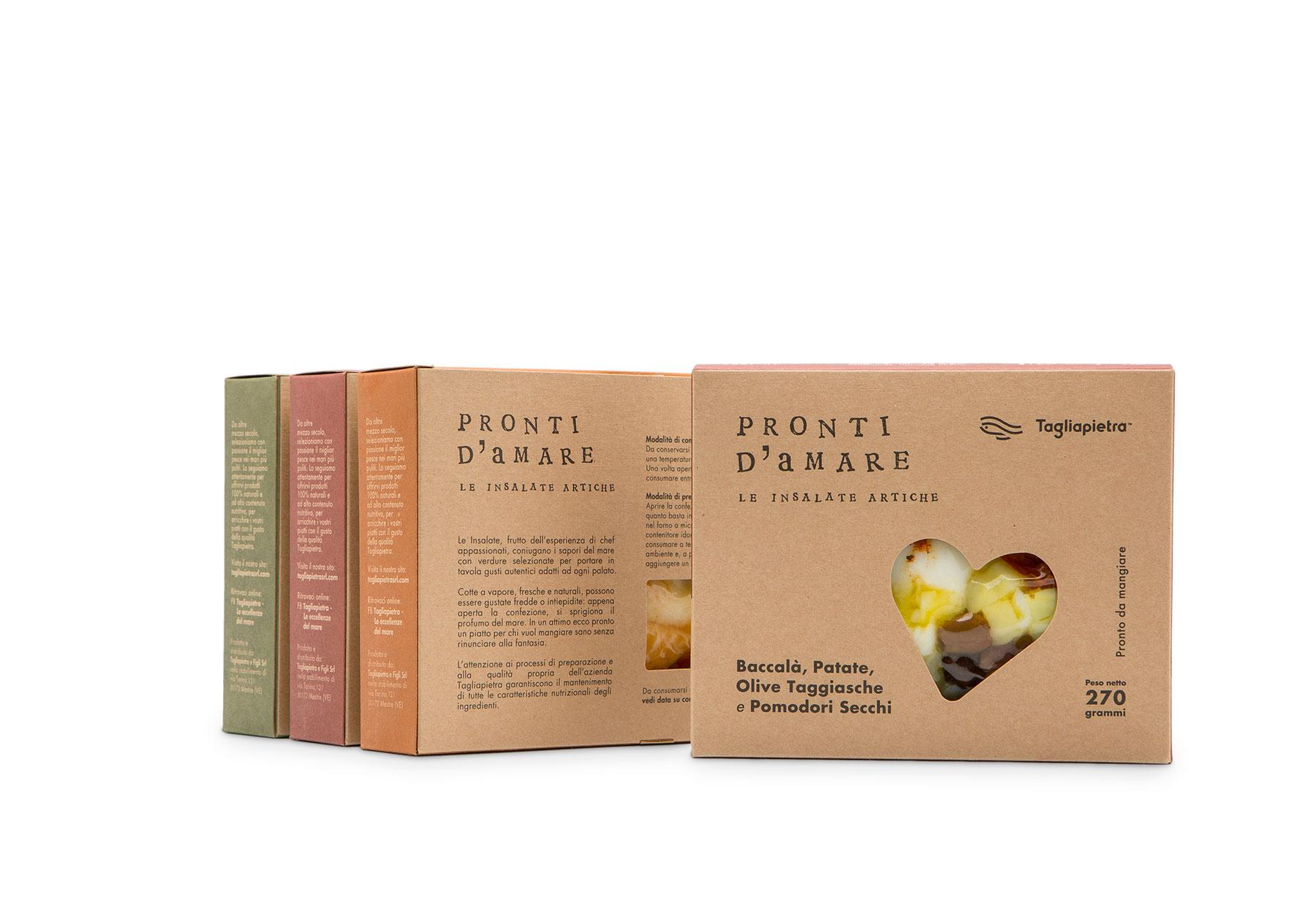 Linea Packaging alimentare Tagliapietra-Dry Studio