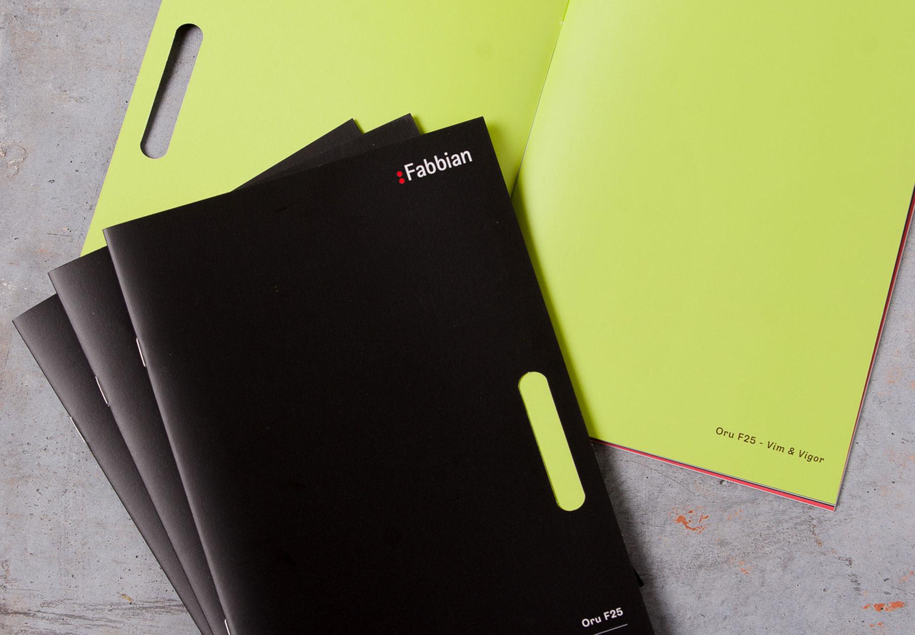 Catalogue Design Fabbian Dry Studio