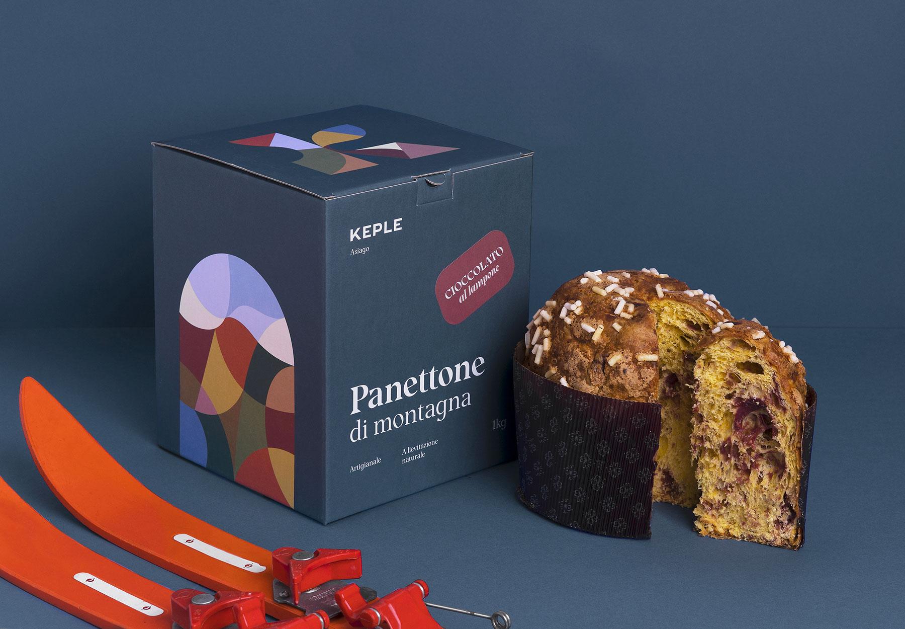 Packaging design panettone Keple-Drystudio