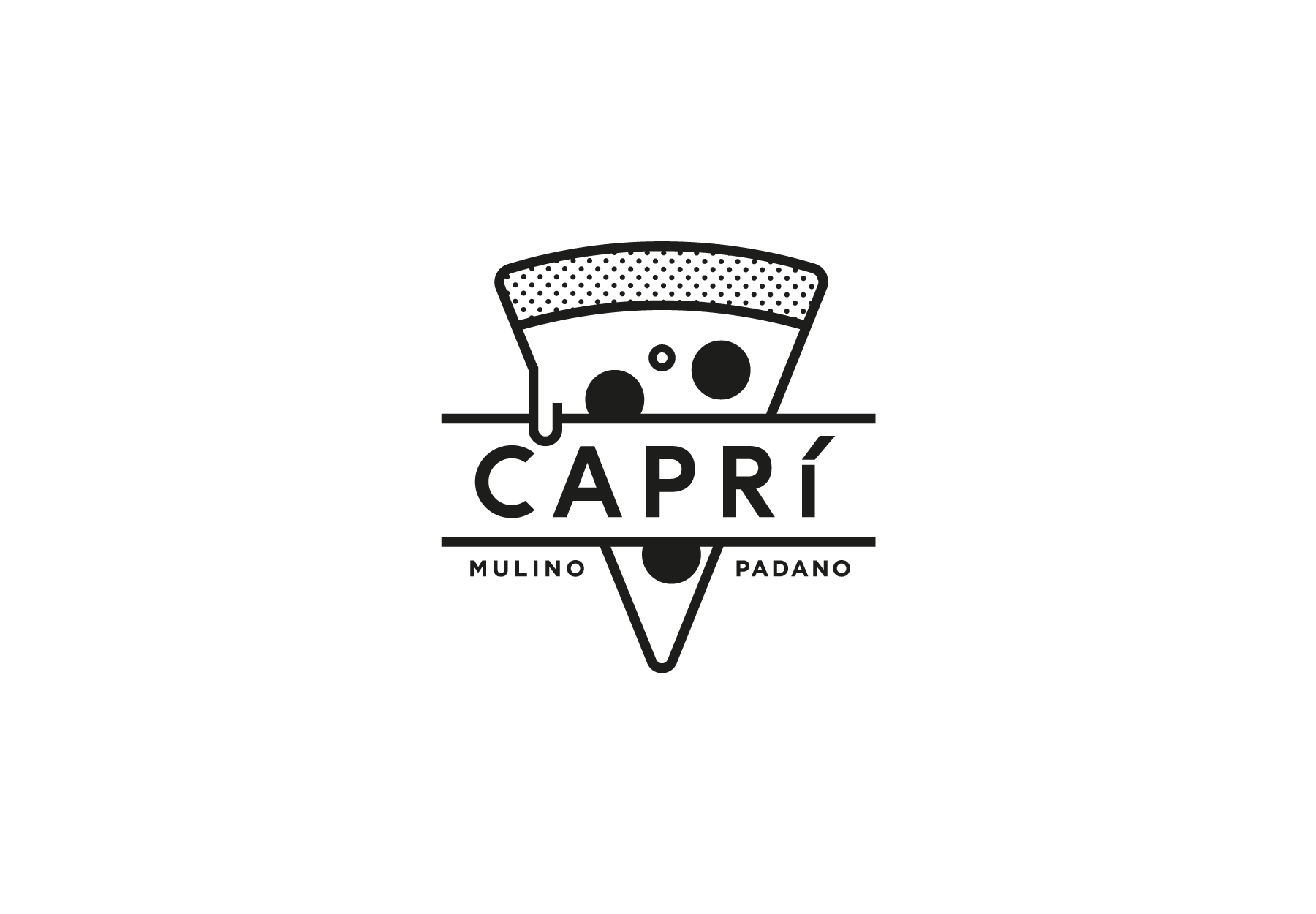 Pizza logo design - DryStudio