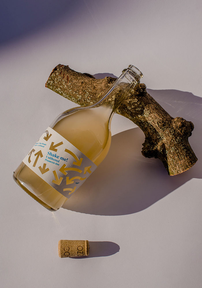 Progetto Packaging bottiglia Corvezzo Dry studio