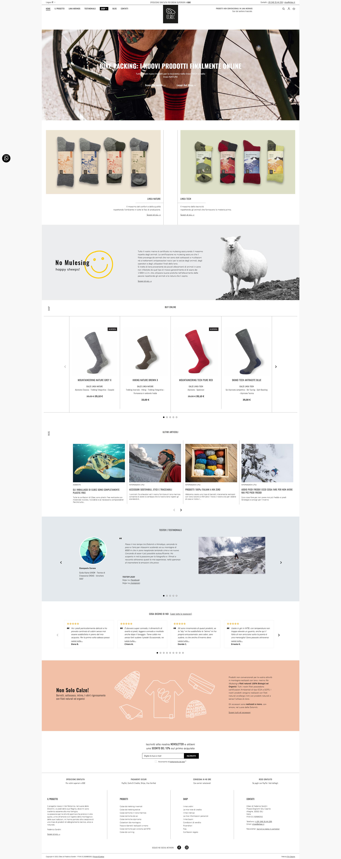 Progetto E-commerce e social media marketing Elbec