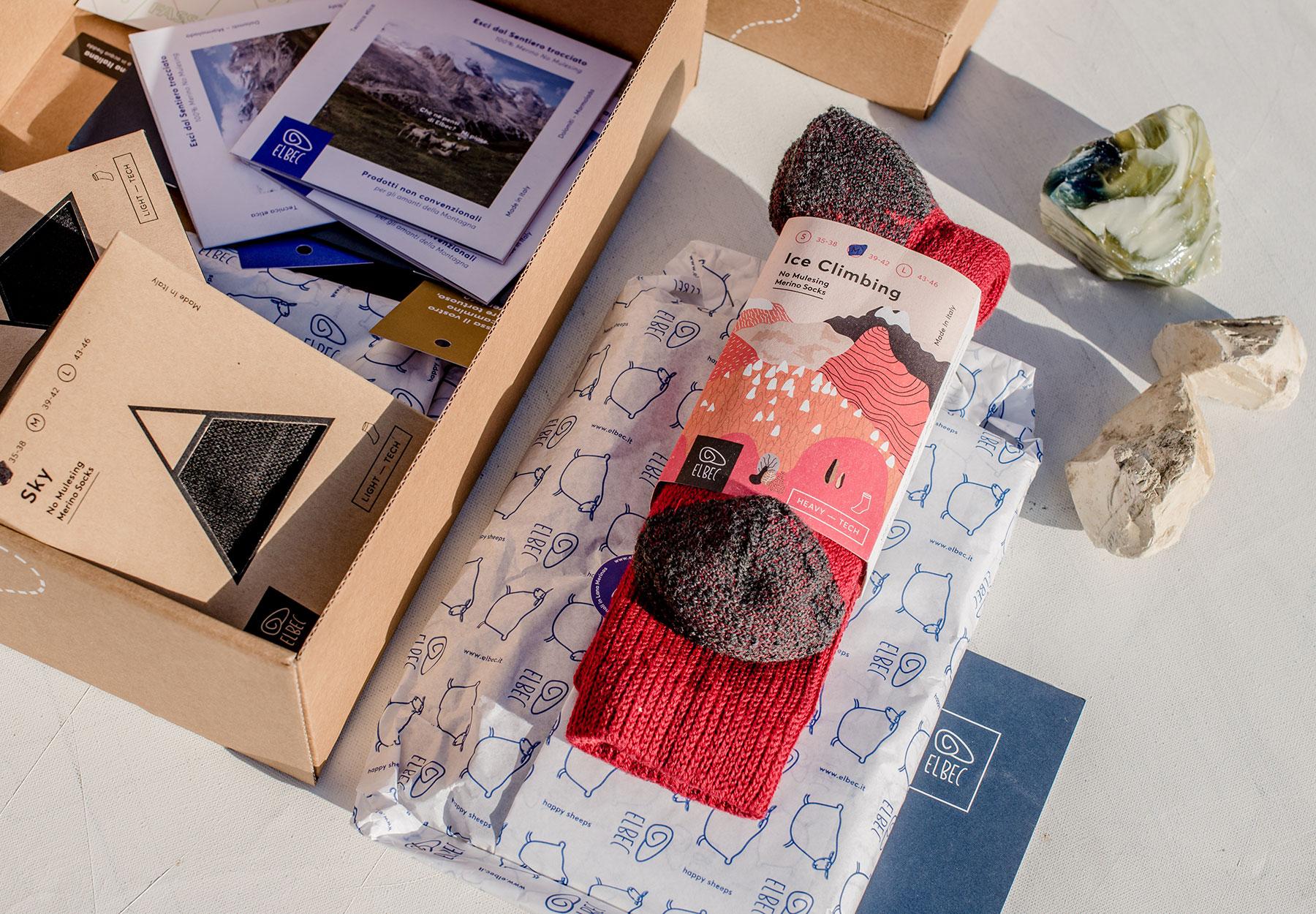 Realizzazione packaging prodotto Elbec